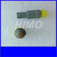 China self-latching lemo 6pin Medical Plastic Circular Connectors Redel 1P Size straight plug and receptacle for sale