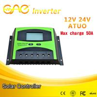 China 50A PWM solar charge controller 12V/24V/48V solar battery charging controller for sale