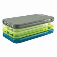 Wholesale TPU Cases for iPhone 5, Good Grip Feeling and Anti-slip from china suppliers