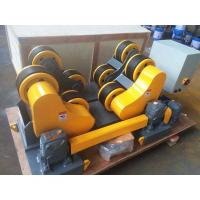 Wholesale 20T 30T Pipe Rollers For Welding , Self Aligning Heavy Duty Pipe Roller Stands from china suppliers