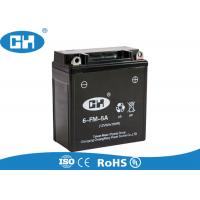 Wholesale High Performance Rechargeable Motorcycle Battery 12V 5Ah Long Service Life from china suppliers