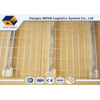 Wholesale Medium Duty Galvanised Steel MeshDeck Railing , Pallet Rack Retail Shelving Systems from china suppliers