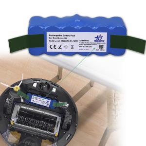 China 14.8V 6400mAh Li-ion Batteries for Irobot Vacuum Cleaner Roomba 500 600 700 800 Series on sale