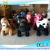 Hansel battery operated zoo animal toys walking dinosaur ride electrical animal toy car used amusement rides for kids