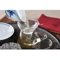 Wholesale Custom Glass Tea Strainer For Loose Leave Teas, Clear Glass Teapot With Filter from china suppliers