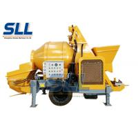 Wholesale 15-30m3/H Mobile Combined Portable Concrete Pump Trailer Mounted Concrete Pump from china suppliers