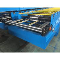 GI / PPGI Roof Panel Roll Forming Machine Wall Board Structure For Roofing Sheet
