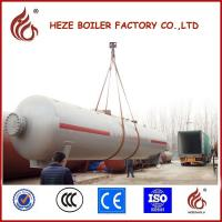 Wholesale Vietnam 10MT 25M3 Ground Gas Station Used LPG Tank Silver Storage Tank from china suppliers