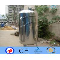 Custom Easily Treat  Stainless Steel Water Tank Water System Flexible