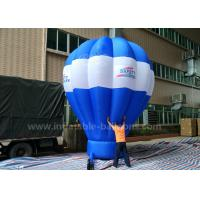 Best 5m Tall Inflatable Advertising Ground Balloon / Hot Air Shaped Balloon For Events wholesale