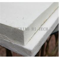 China High Temperature Heat Insulation Ceramic Fiber Board For Wood Stove 10 - 50mm Thick on sale