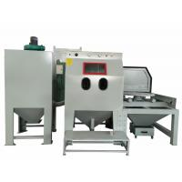 Wholesale High Efficiency Cart Sandblasting Cabinets With Industrial Ultrasonic Cleaner from china suppliers