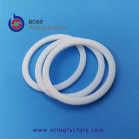 Wholesale White pure virgin PTFE o ring back-up ring food grade  backup o ring machined by cnc good quality BRT from china suppliers