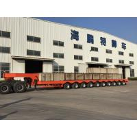 10-AXIS WITHDRAWING AND TURNING SEMI TRAILER Popuplar in Vietnam