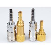 Wholesale Korean Type Pneumatic Quick Release Coupling , LSQ-DD Nickle Plated Pneumatic Connectors from china suppliers