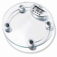 China ROHS Transparent  Safety tempered Glass  Bathroom Weight Scale with LCD on sale