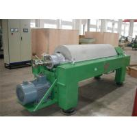 Tricanter Centrifuge / Horizontal Decanter Centrifuge For Water Solid Oil Separation