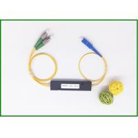 Broadband Fibre Optic Coupler With Connector SU-FA For CATV , St To St Coupler