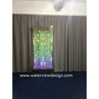 China 90*90inches Digital water bubble wall  LED water bubble panel for hotel KTV restaurant office bar SPA Mall for sale