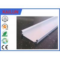 Wholesale Silver Anodized LED Strip Aluminium Extrusion Flat Bar for 18 Watt Panel Light from china suppliers