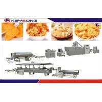 Wholesale Automatic Screw Extruder Fried Snacks Making Machine , Snack Food Processing Equipment from china suppliers