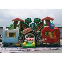 Wholesale Jungle theme kids backyard inflatable amusement park with digital printing for outdoor fun from china suppliers