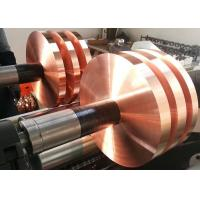 Wholesale Corrosion Resistance Electrolytic Copper Foil , Copper Foil Sheet Roll Calendared from china suppliers