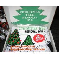 Promotion large removal waterproof Christmas artificial decorated tree bag,10 Ft Christmas Tree Removal Gift Bags packag for sale