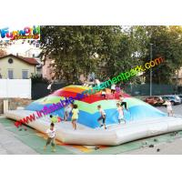 Wholesale Giant Inflatable Sports Games Air Bouncing , Jumbo Jumper Air Pillow from china suppliers