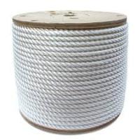 Nylon 3-strands twist code dock rope usded for boat or yacht