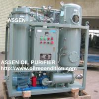 China ASSEN TY High Quality Turbine Oil Purification Plant,Gas Turbine Oil Filtering System Machine for sale