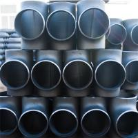 Wholesale Seamless Pipe Fittings Carbon Steel Hydraulic Butt Weld Tee Seamless Buttweld Fittings ASME B16.9 Standard from china suppliers