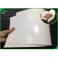 China 300gsm FDA Certified One side PE Coated FBB Paper With High glossy for sale