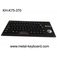 China Compact Silicone Backlit Industrial Keyboard With Trackball 75 Keys 5.0V DC for sale