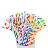 Wholesale Convenient Lightweight Bendable Paper Straws 1.2g Per Pcs For Festival from china suppliers
