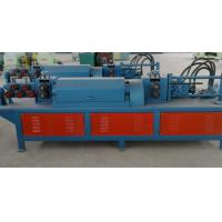 Wholesale Fully Automatic Steel Bar Cutting Machine , Reinforced Rebar Straightening Cutting Machine from china suppliers