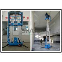 Wholesale Dual Mast Vertical Mast Lift 8 Meter Platform Height For Business Decoration from china suppliers