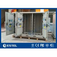 Best Three Compartments Outdoor Street Cabinets Telecoms For Base Station / 4G System wholesale