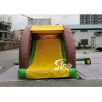 Cartoon kids Bouncy Castle Inflatable jump house with slide For kids Inflatable