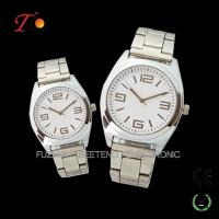 Quality Resonable price stainless steel strap color available of pair watches for lovers with a gift box for sale
