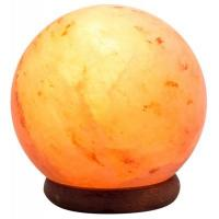 China Beautiful ball shaped Salt Lamps with many health benefits for sale