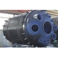 Wholesale 30000L Half Pipe Jacketed Vessel , jacketed pressure vessel stainless steel reactor from china suppliers