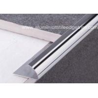 Wholesale External Corner Stainless Steel Tile Trim , Stainless Steel Quarter Round Trim from china suppliers