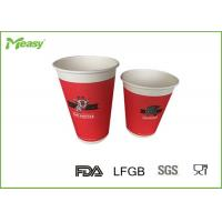 Wholesale Red 12oz  Various sizes Single Wall Paper Cups for hot coffee , custom color from china suppliers