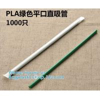 China Disposable Plastic Compostable Straw Biodegradable Flexible PLA Drinking Straw Wholesale,Eco-Friendly Biodegradable Comp on sale