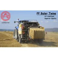 Wholesale UV Stabilized Square Or Round PP Baler Twine 130 Meter / 9kg Yellow Color from china suppliers