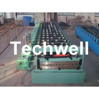 Wholesale Hi-Rib Steel Roof Roll Forming Machine With Gimbal Gearbox Drive from china suppliers