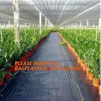 Wholesale environmental biodegradable pp woven weed control mat, heavy dury pe tarpaulin,Woven Weed Barrier/Weed Control Fabric from china suppliers