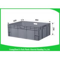 Heavy Duty Plastic Boxes Long Service Life , Large Plastic Storage Containers PP