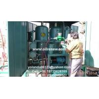 Mobile Vacuum Transformer Oil Filter Plant | On Site Dielectric Oil Treatment for sale